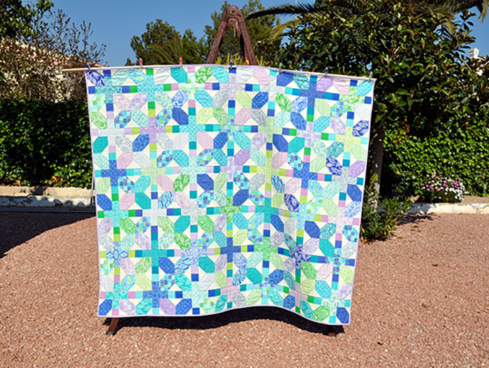 Horizon quilt web
