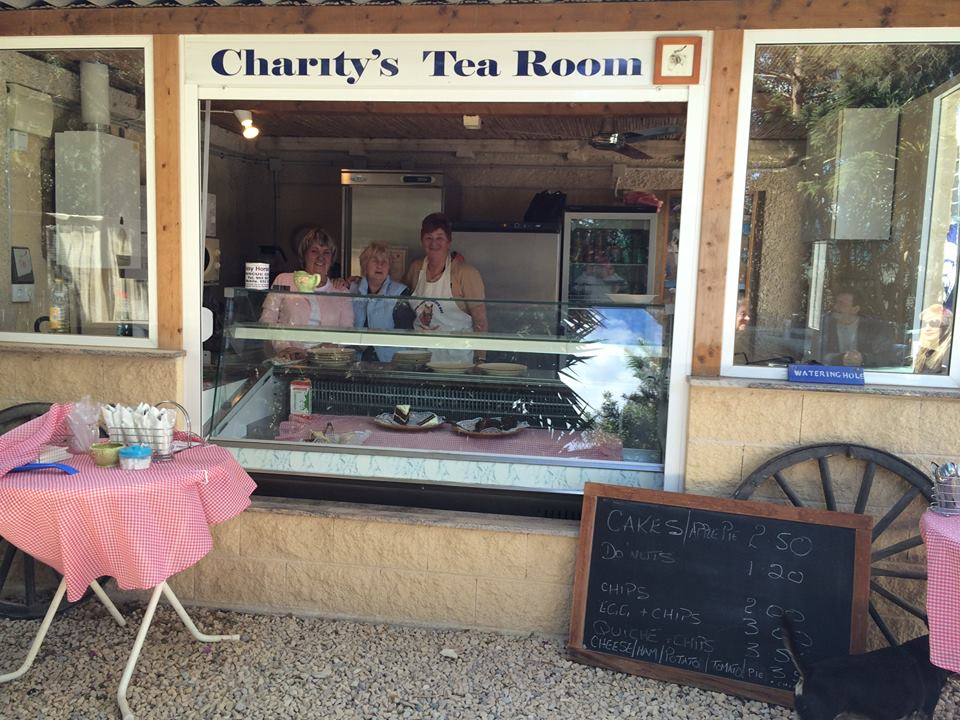 Charitys Tearoom at the Easy Horse Care Rescue Centre